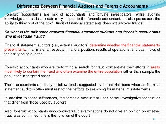 forensic accounting examples