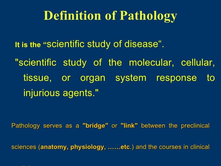 General pathology lecture 1 introduction & cell injury