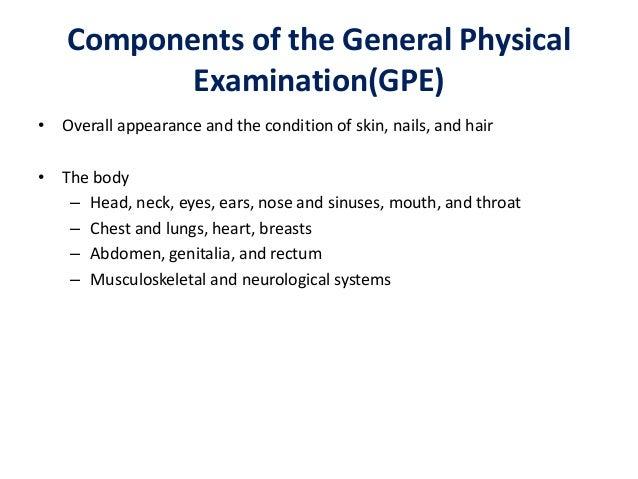 General Physical Examination In Psyhiatry