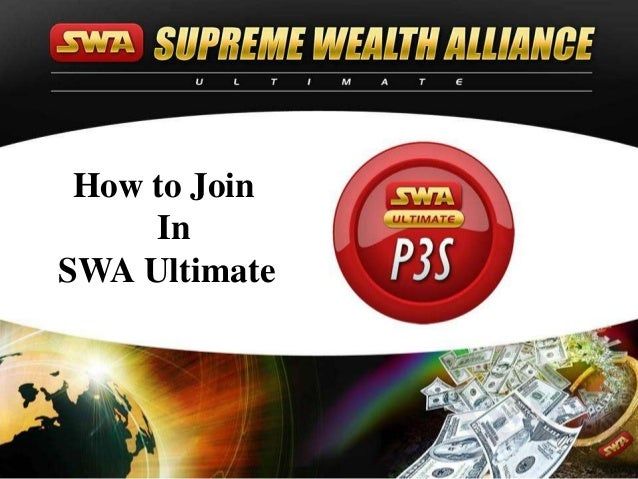 How to Join     InSWA Ultimate