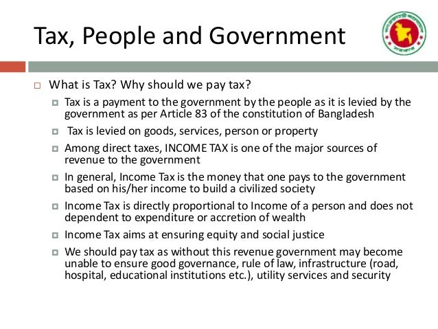 who are the income tax authorities