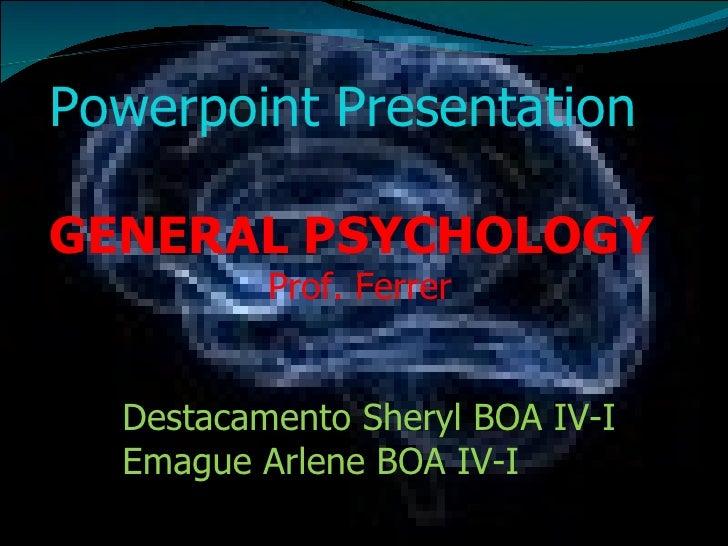 General Psychology Pdf