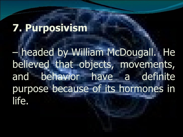 purposivism psychology Read purposivism or hormic psychology on deepdyve, the largest online rental service for scholarly research with thousands of academic publications available at.
