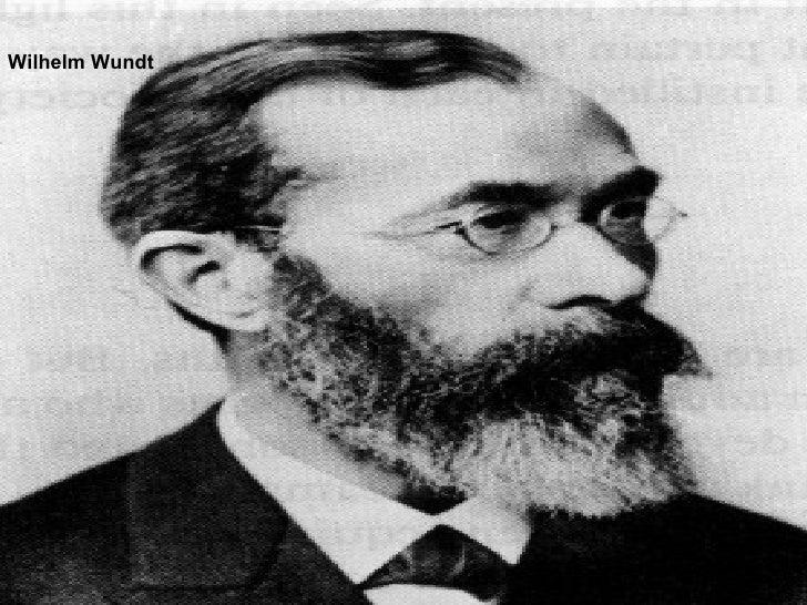 Five schools of psychology through comparison and wilhelm wundt