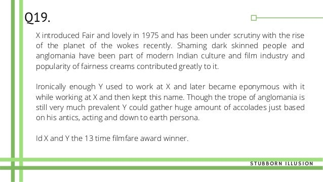 X introduced Fair and lovely in 1975 and has been under scrutiny with the rise of the planet of the wokes recently. Shamin...