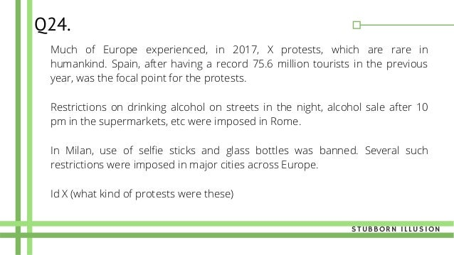 Much of Europe experienced, in 2017, X protests, which are rare in humankind. Spain, after having a record 75.6 million to...
