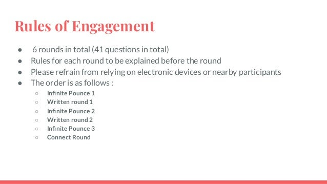 General Quiz Finals - IIM Ahmedabad Chaos 2020 - by Quiz Cetera Slide 3