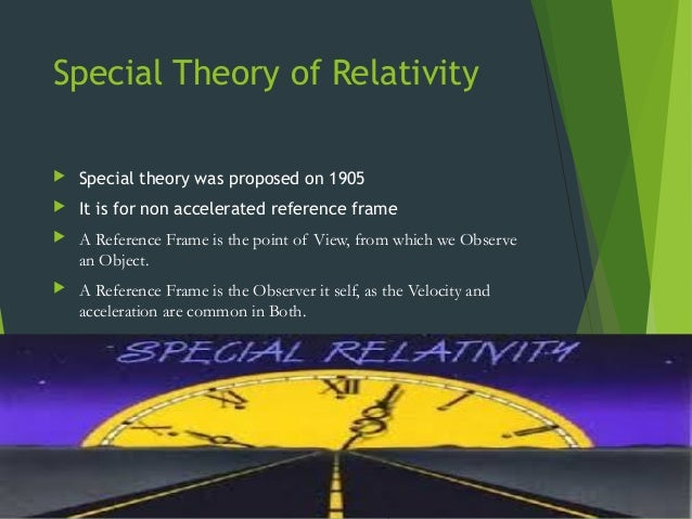"special relativity essay On the electrodynamics of moving bodies absolutely stationary space"" provided with special of relativity requires that if the maxwell-hertz."