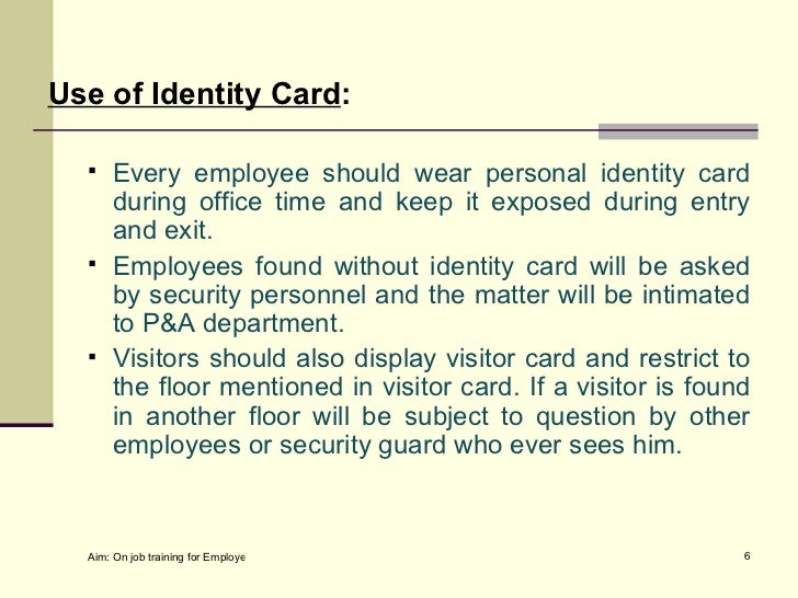 Or Order Security Facilities For General Office