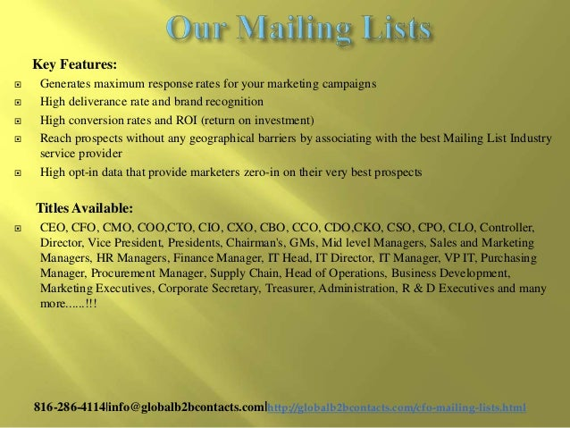 General surgeons email & mailing list helps you to promote the brand in the best attractive manner Slide 3