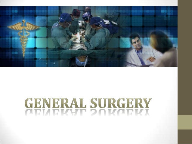 general surgery thesis