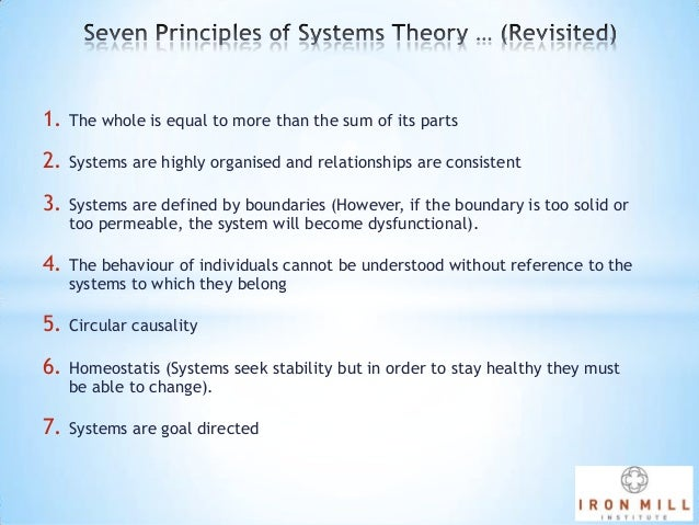 General systems theory - a brief introduction