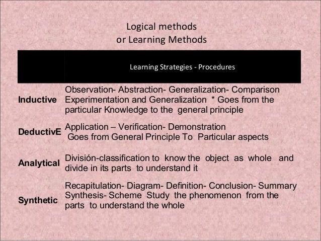 General teaching method