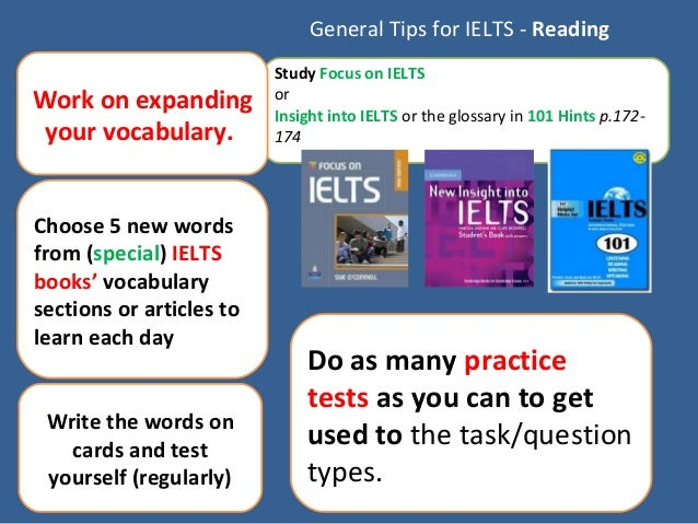 how to study for ielts reading