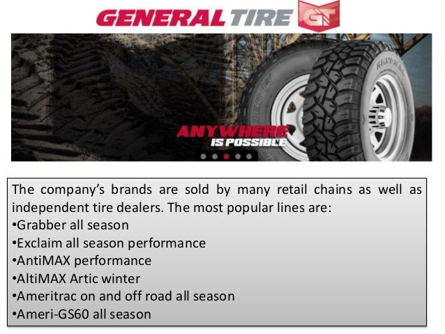 General Tire Rebate