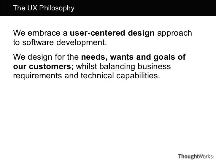 General UX activities & process overview Slide 2