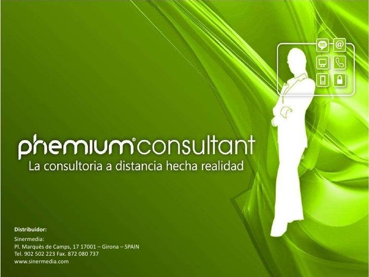 Distribuidor:<br />Sinermedia:<br />Pl. Marquès de Camps, 17 17001 – Girona – SPAIN<br />Tel. 902 502 223 Fax. 872 080 737...