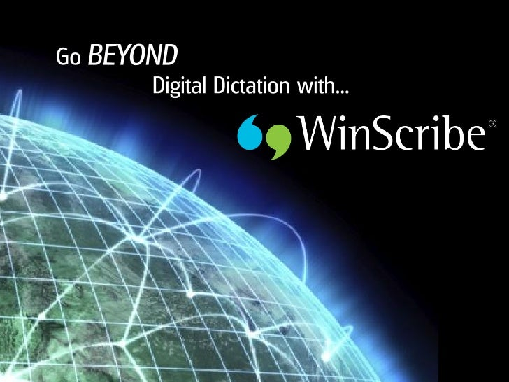WinScribe is a software-based digital dictation, transcription and workflow routing solution empowering thousands of organ...
