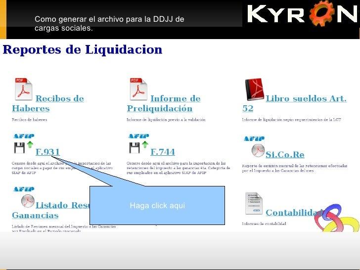 KYRON Generacion de F931 Slide 3