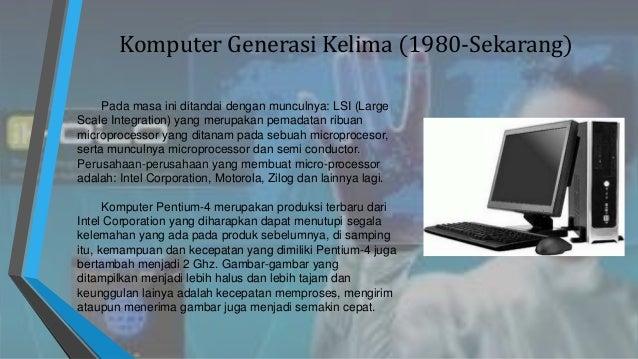 Generasi Komputer