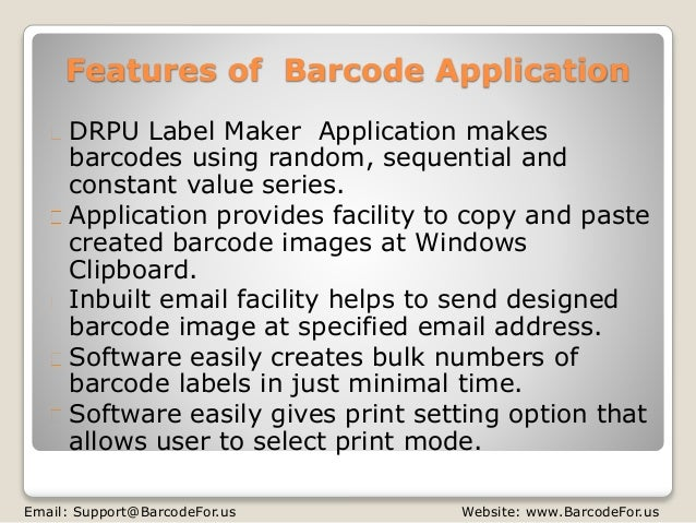 Generate Code39 Full ASCII Barcode Labels