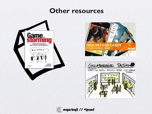 Other resources   @egarbugli // #ipconf