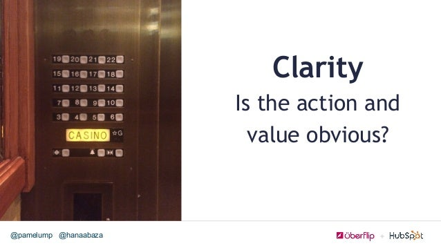 @hanaabaza@pamelump Clarity Is the action and value obvious?