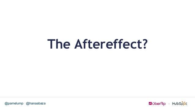 @hanaabaza@pamelump The Aftereffect?