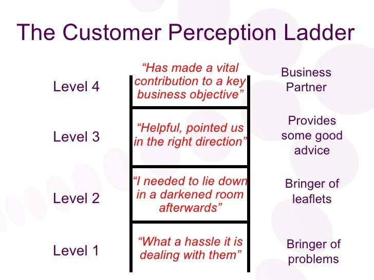 Understanding and Managing Customer Perception