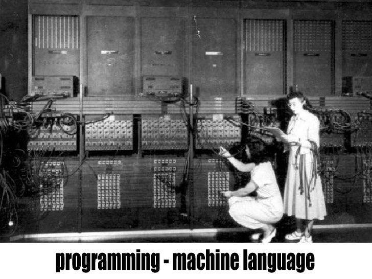 programming - machine language