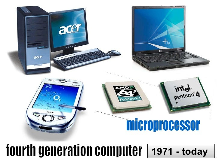 What is the difference between any two generation of computers?