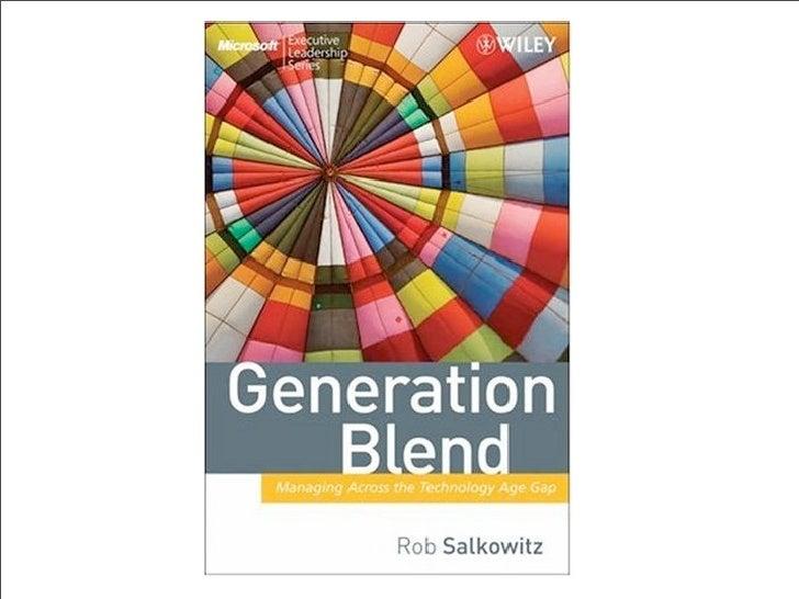 Generation Blend Slide 1
