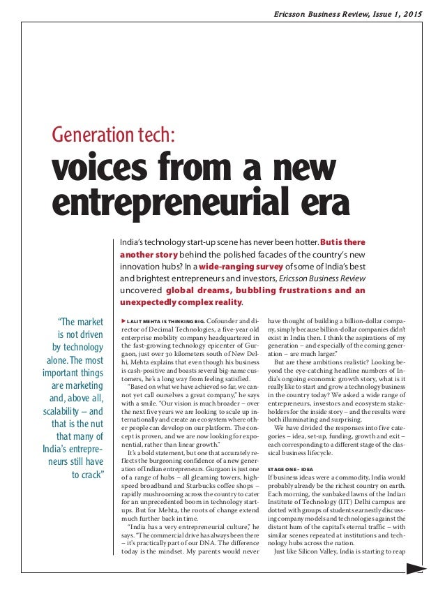 Ericsson Business Review: Seeing through transformation ...