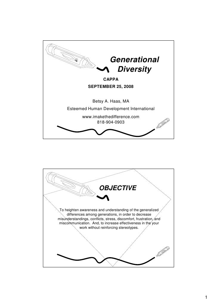 Generational                                   Diversity                              CAPPA                    SEPTEMBER 2...