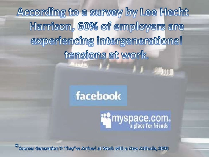 According to a survey by Lee Hecht Harrison, 60% of employers are experiencing intergenerational tensions at work. <br /> ...