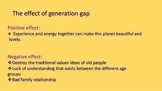 essay about gap between generation Free generation gap papers, essays, and research papers.