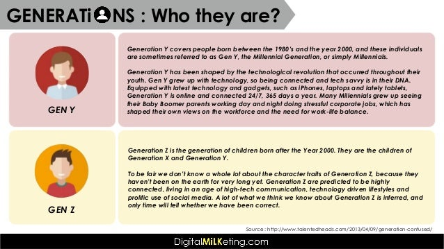 generation y case study The different types of case studies, and the different types of case information used 21 the case study vs other research strategies as mentioned above,.