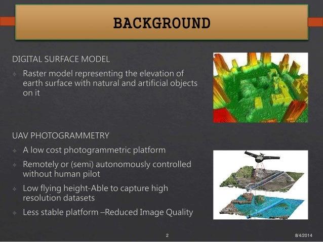 Generation of High Resolution DSM using UAV Images - Final Year Project Slide 2