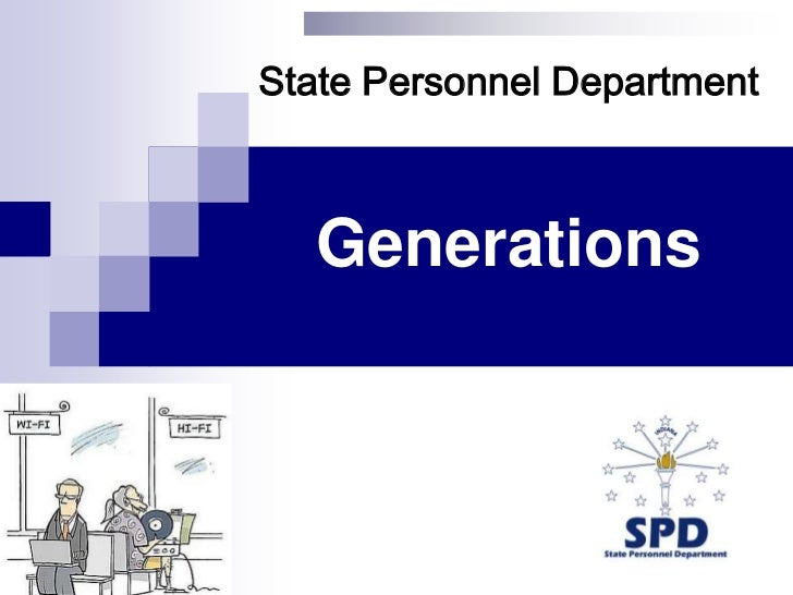 State Personnel Department<br />Generations <br />