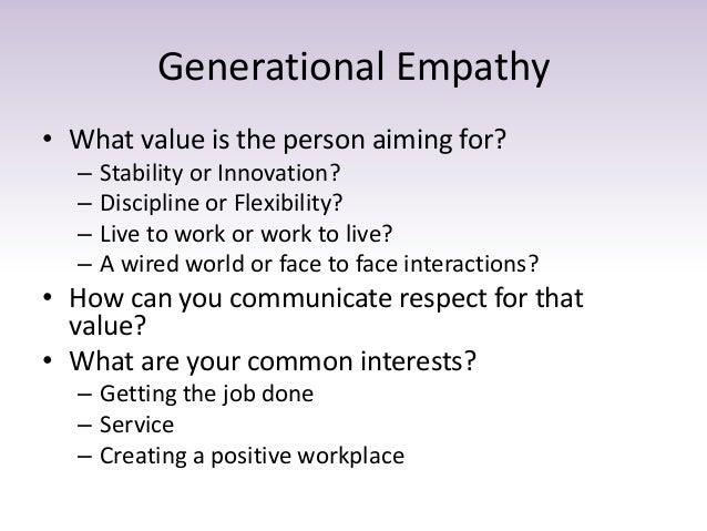 Understanding Workplace Values