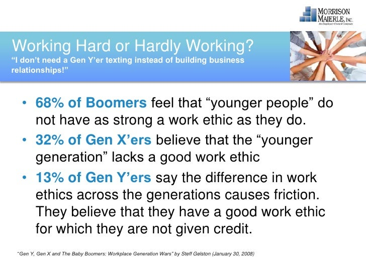 generation y work ethic