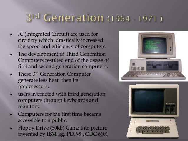 generations of computer rh slideshare net