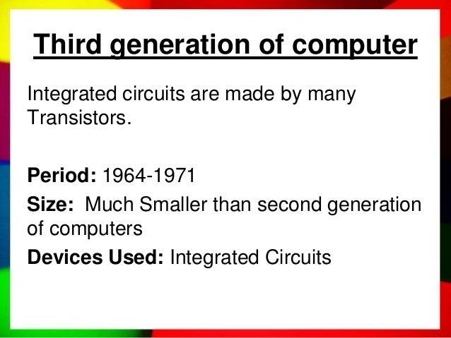 generations of computer