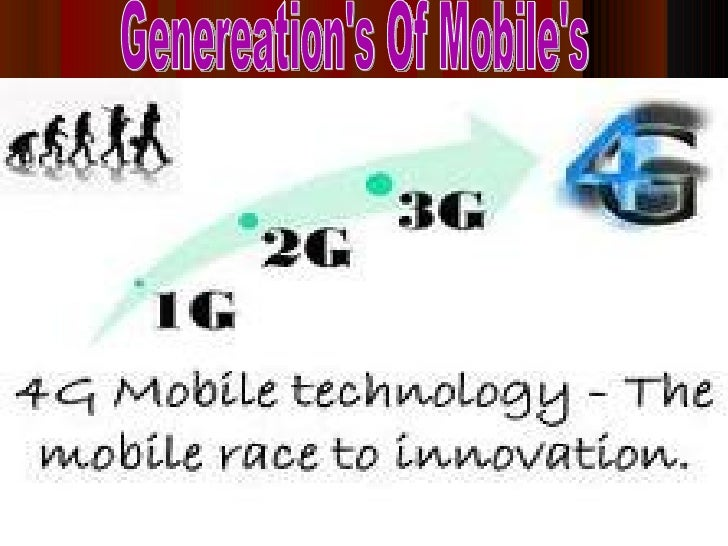 Generations of mobile Slide 2