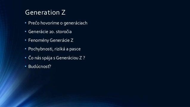 Generation z Slide 2