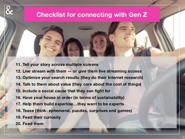 Want to apply Gen Z insights to your business? We will continue to track Gen Z, adding a global perspective from our Scout...