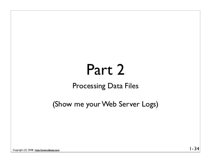 Part 2                                             Processing Data Files                                    (Show me your ...