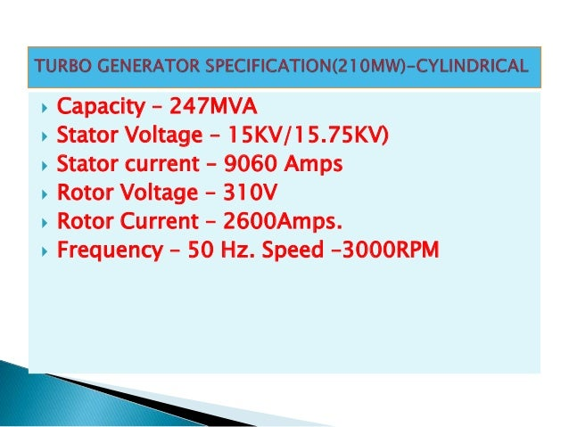 11 SYNCHRONOUS GENERATOR TYPES GENERATOR PROTECTION