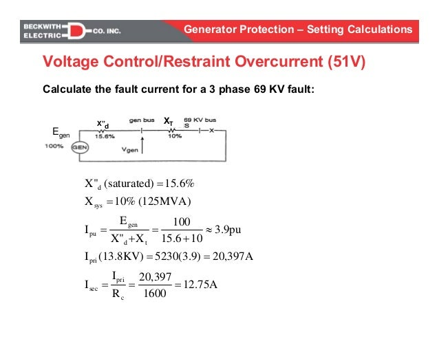 Generator protection calculations settings on 3 phase magnetic starter wiring, 3 phase motor diagram, 3 phase automatic transfer switch diagram, 3 phase transformer connection diagram, 3 phase generator animation, single phase generator diagram, auto alternator diagram, shunt trip coil diagram, 3 phase generator wiring connections, 3 phase generator operation, 3 phase generator connectors, ac generator diagram, 3 phase wiring color code, 3 phase meter wiring, 2 phase power diagram, circuit diagram, automotive generator diagram, 3 phase generator windings, 240v single phase diagram, 3 phase generator basics,