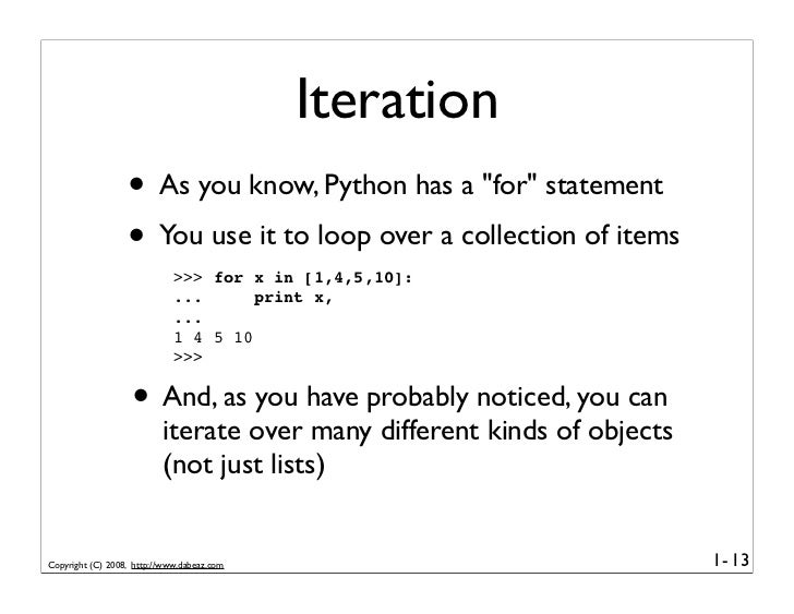 how to iterate over a dictionary keys in python